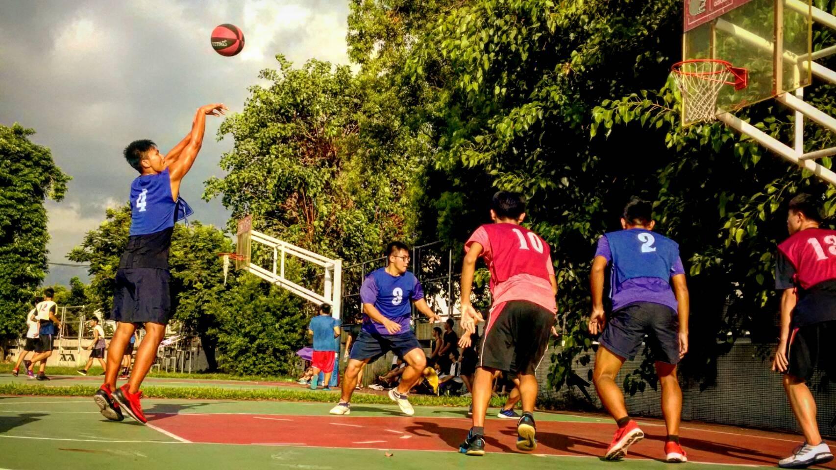 籃球3對3規則